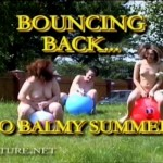 Bouncing Back to Balmy Summer-Family Nudism