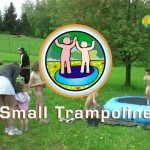 Small Trampoline-Family Nudism  家族の裸体