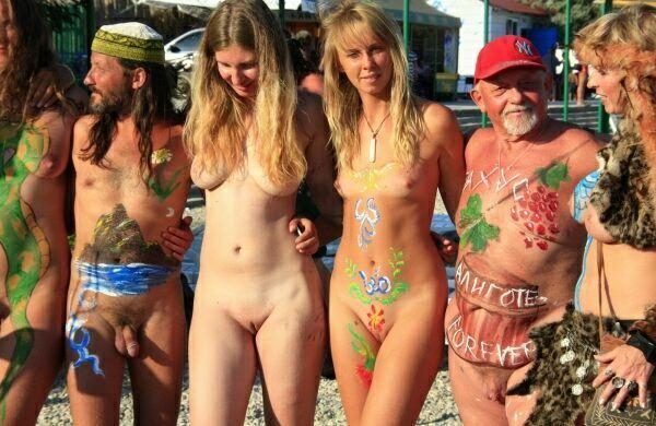 nude nudism, nude life