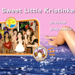Sweet Little Kristinka-Family Naturism  家族の裸体