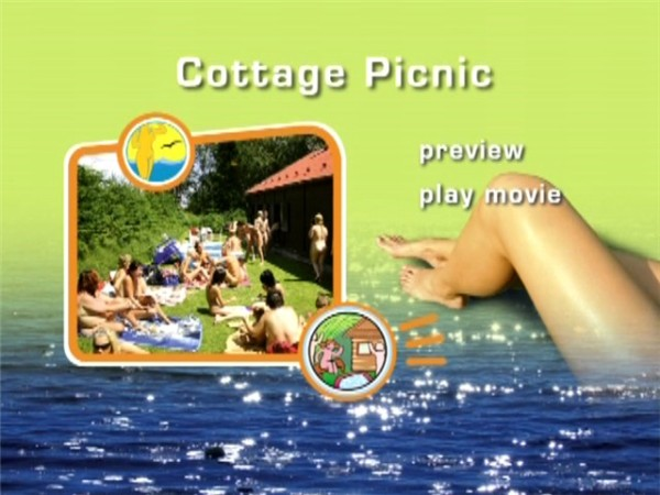 Cottage Picnic-Family Nudism  家族の裸体