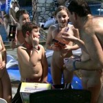 PureNudism Video Family Nudism - GRASSY OUTDOOR FITNESS