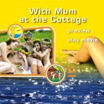 With Mum at the Cottage-Family Naturism  家族の裸体