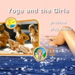 Yoga and the Girls-Family Naturism  家族の裸体