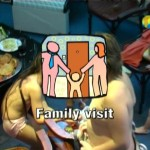 Family Visit-Naturist Freedom  家族の裸体