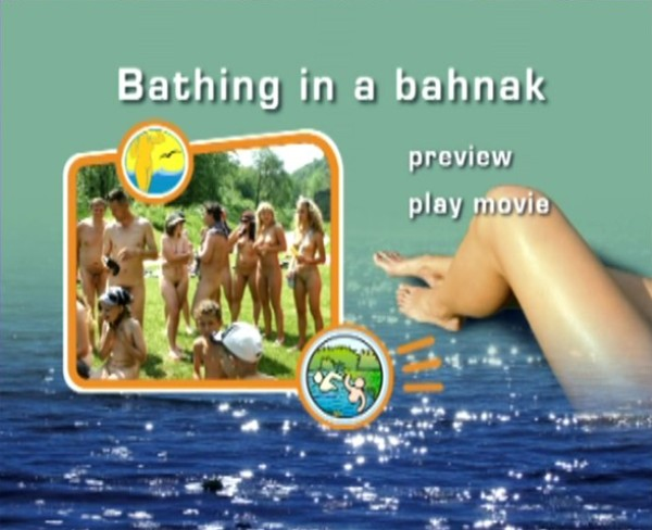 Bathing in a Bahnak-Naturist Freedom  家族の裸体
