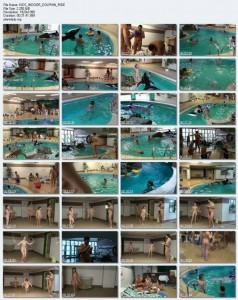 PureNudism Video Family Nudism - KIDS INDOOR DOLPHIN RIDE