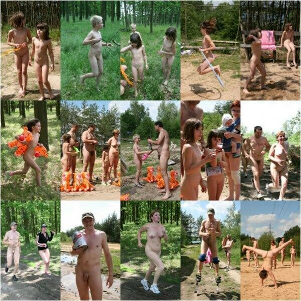 family group nudist