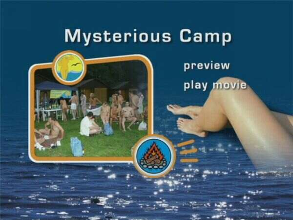 Mysterious Camp-Family Naturism  家族の裸体