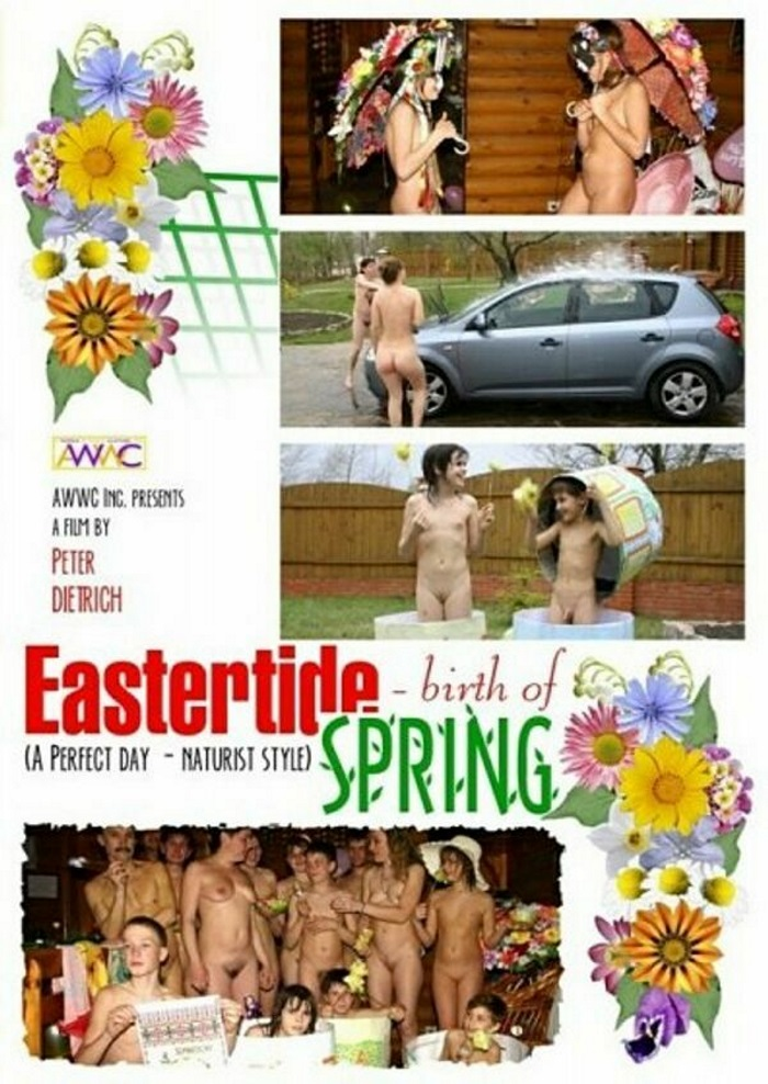 EasterTide Birth of Spring-Family Nudism