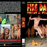 Fire Dance, Paint &Prance-Family Naturism  家族の裸体