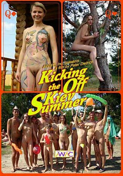 Kicking off the Kiev Summer-Family Naturism