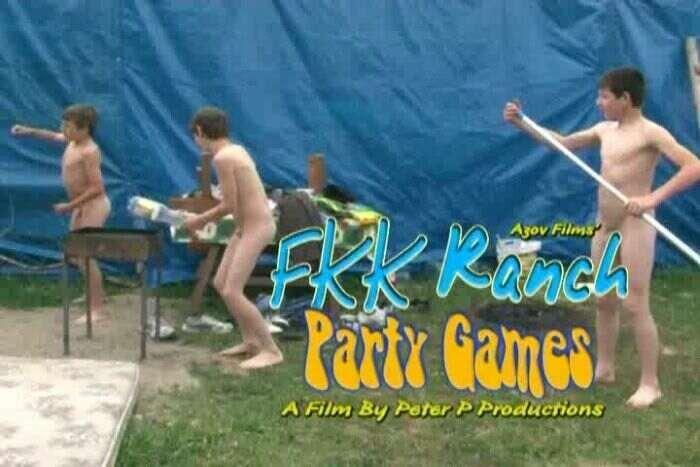 FKK Ranch Party Games-Nudist Boys