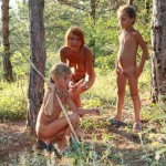 NEW!!! PureNudism-Naturist Family Events Pictures [Gold Grassy Field Series]  ゴールドグラッシーフィールド