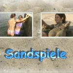 Sandspiele-Teens Nudist