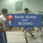 Bare Buns and Boxing-Families Nudist Videos