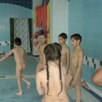 Family Nudist Videos-Indoor Swim Exercise [PureNudism]