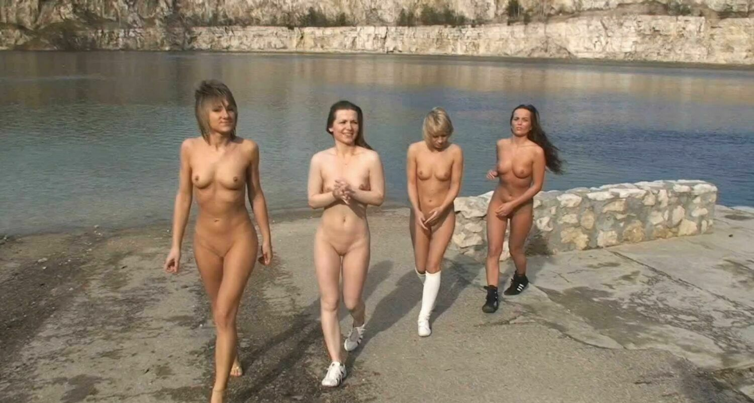 nude beach live video