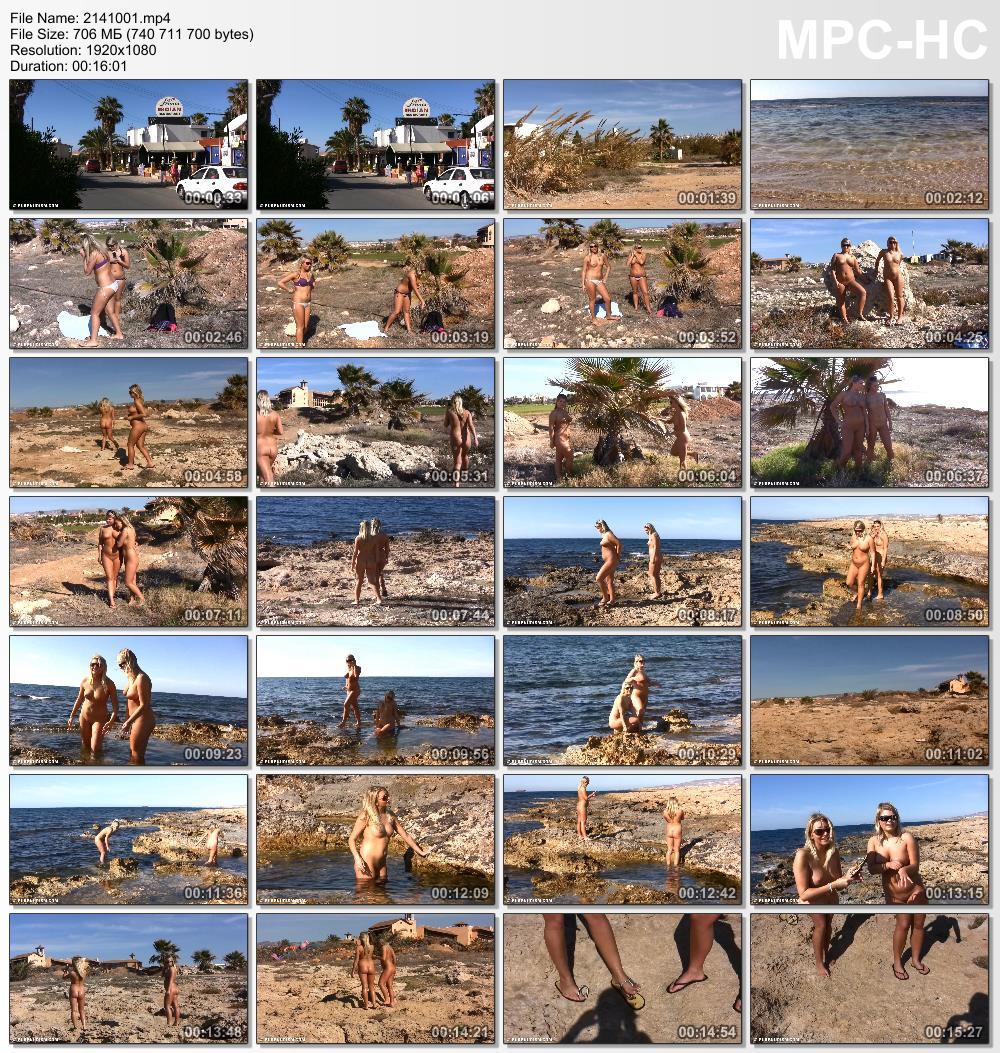 Nudist beach resort videos