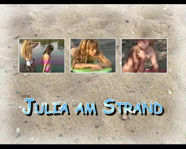 Teens nudist video - Julia and Strand