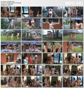 Girls young naturists [Wilderness cottage trip set2]