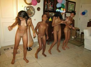 Brazilian naturist party - Nudist family events [Purenudism images]