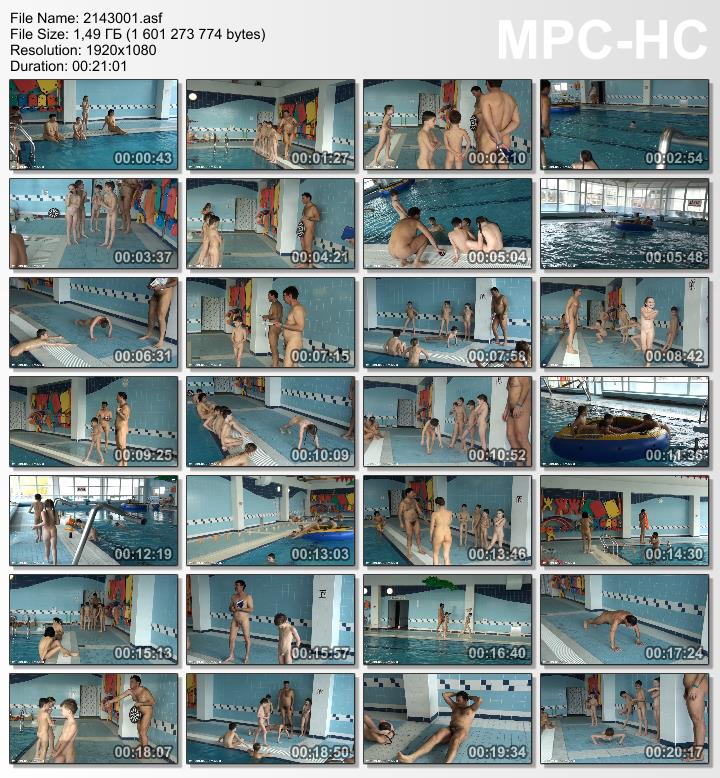 Purenudism video - Family nudism [Poolside activities set1]