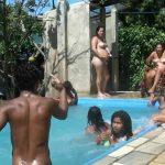 Oceanic Backyard Noon - Brazilian Nudist Family Events [Purenudism]