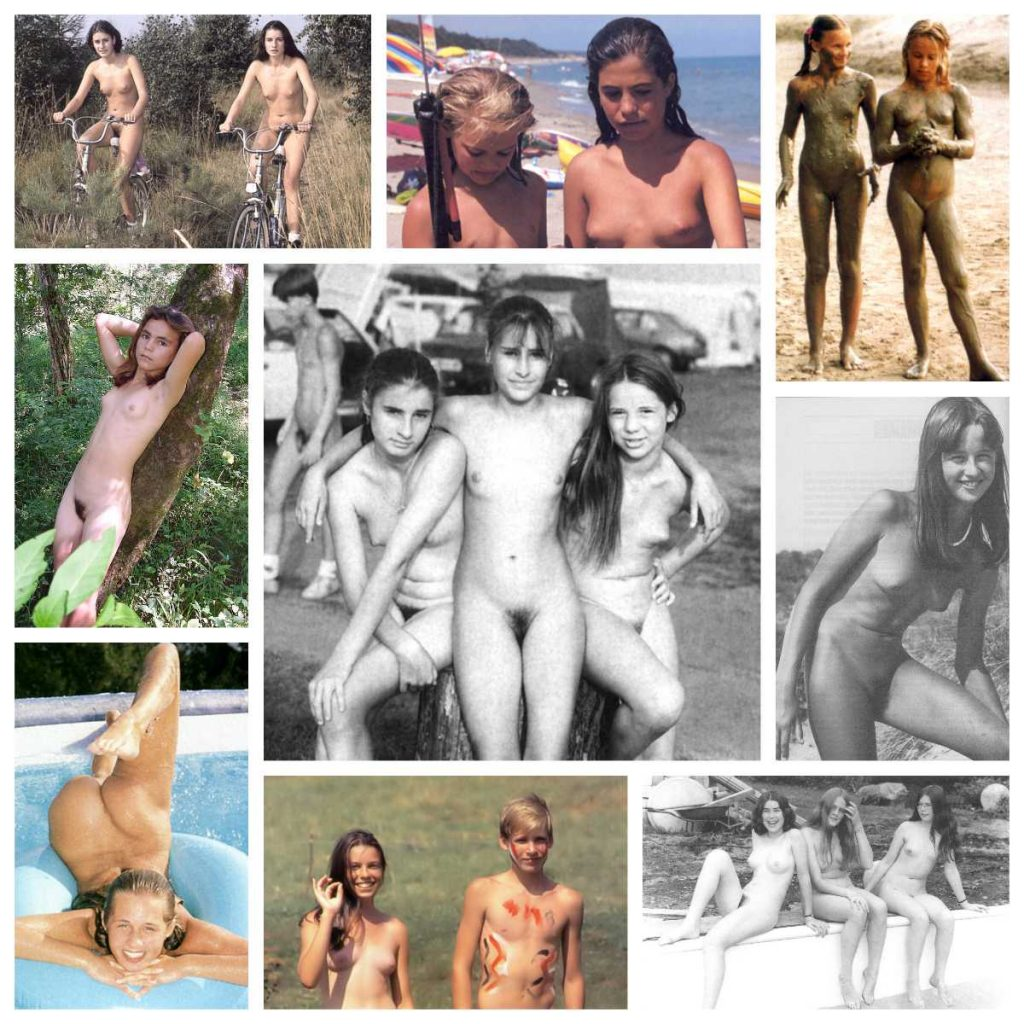 Retro Nudist Naturist Teen 92