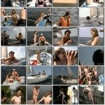 Sailing day in the family of nudists
