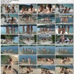 Joyful day in paradise for young girls nudists