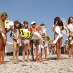 Nudists beauty pageant for young and adult girls