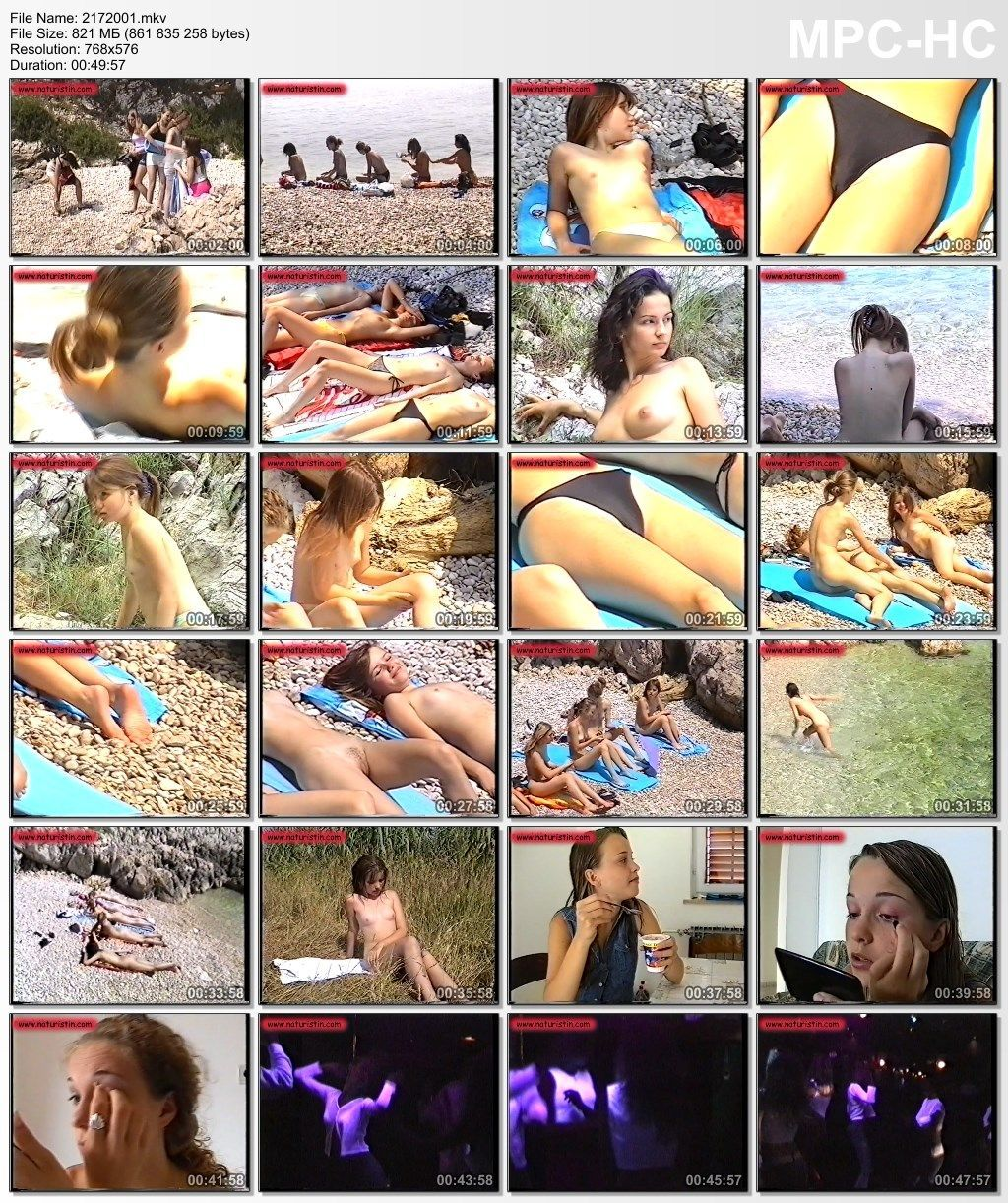 Holiday for girls naturist teens