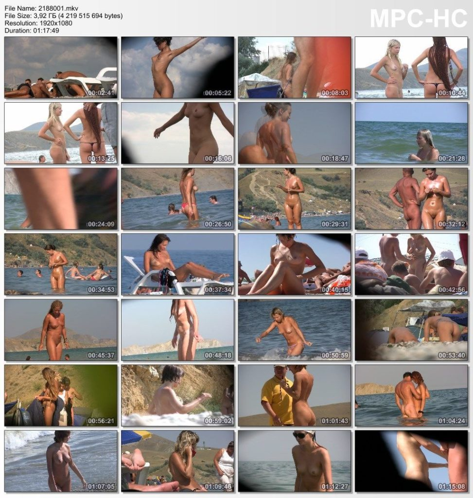 Candid family nudism part one
