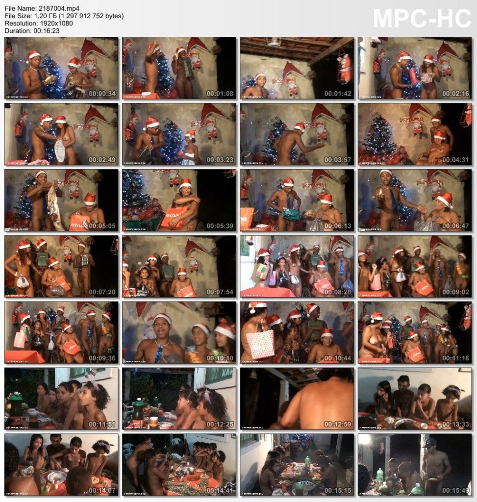 Brazil Nudist Christmas, Festival Celebrations. Part four