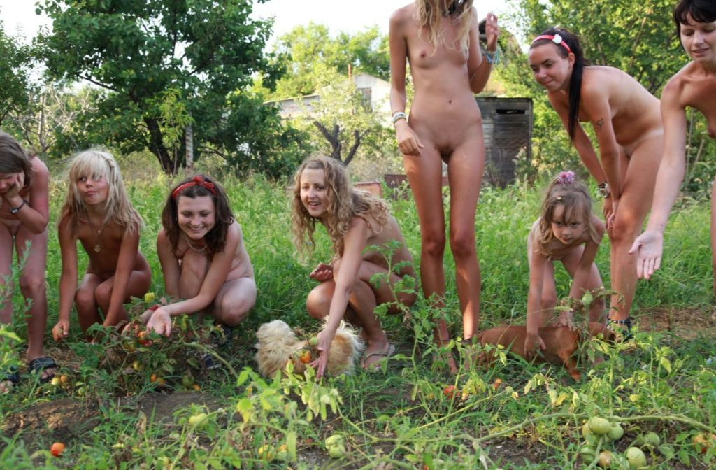 Watermelon lunch part 4 - Pure nudism photos