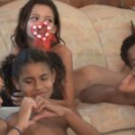 Family Naturism in Brazil - Fun Tropical Activity part 3