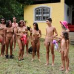 Family nudism in Brazil - Lush green travels 2