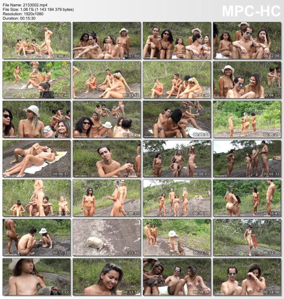 Brazillian Family Nudism - Green Tropic Adventures #2