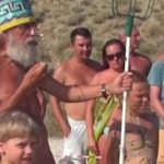 Crimea. Koktebel. Nudist camp. Neptune Day 2016